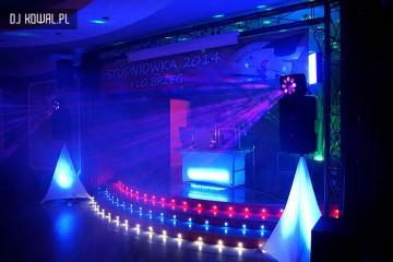 oswietlenie disco brzeg