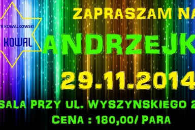 Andrzejki 2014
