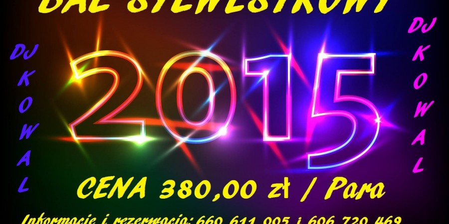 Bal Sylwestrowy 2015